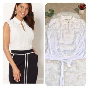 Eva Mendes NY&co blouse Rana bodysuit